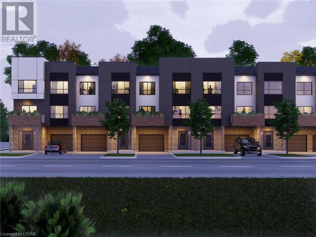 Townhouse for sale at  Street B St Unit Lot 1 London Ontario - MLS: 228301