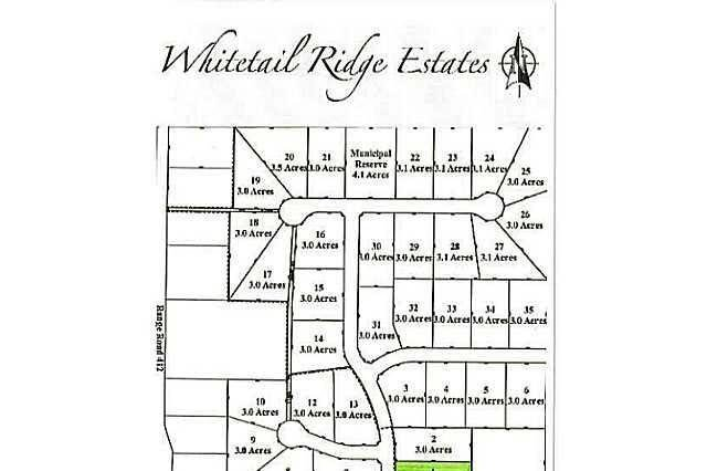 Home for sale at 1 Whitetail Ridge Estates Unit LOT Rural Bonnyville M.d. Alberta - MLS: E3394424
