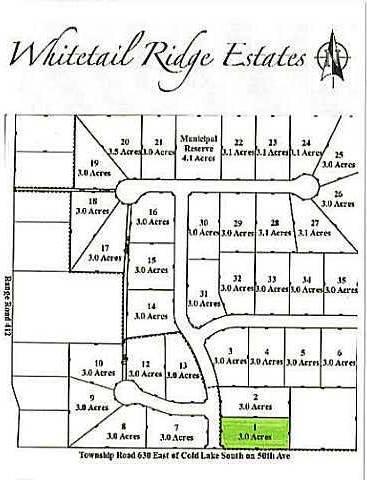 Home for sale at  Whitetail Ridge Estates Unit Lot 1 Rural Bonnyville M.d. Alberta - MLS: E3394424