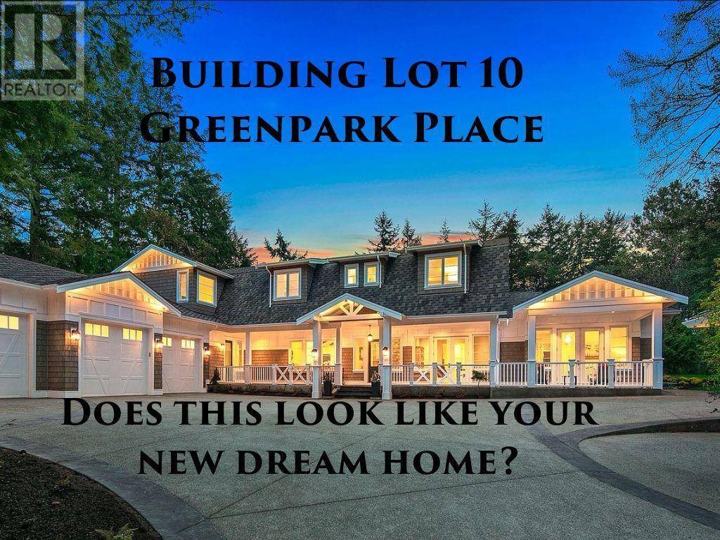 Home for sale at  Greenpark Dr Unit Lot 10 North Saanich British Columbia - MLS: 413896