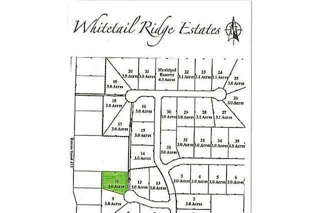 Residential property for sale at 10 Whitetail Ridge Estates Unit LOT Rural Bonnyville M.d. Alberta - MLS: E3394446