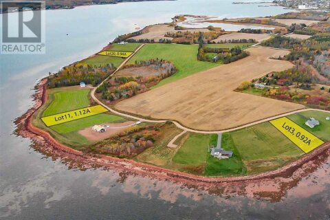 Residential property for sale at 11 Battery Pt Unit LOT Georgetown Prince Edward Island - MLS: 202022222
