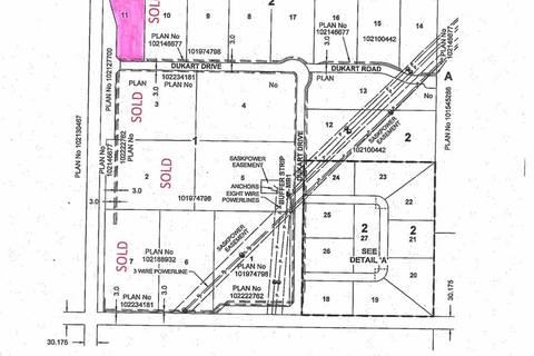Residential property for sale at LOT 11 Dukart Dr Estevan Rm No. 5 Saskatchewan - MLS: SK786005