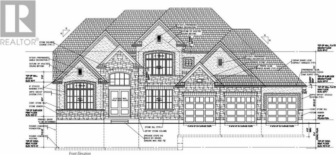 House for sale at  Winterberry Pl Unit Lot 110 London Ontario - MLS: 196815