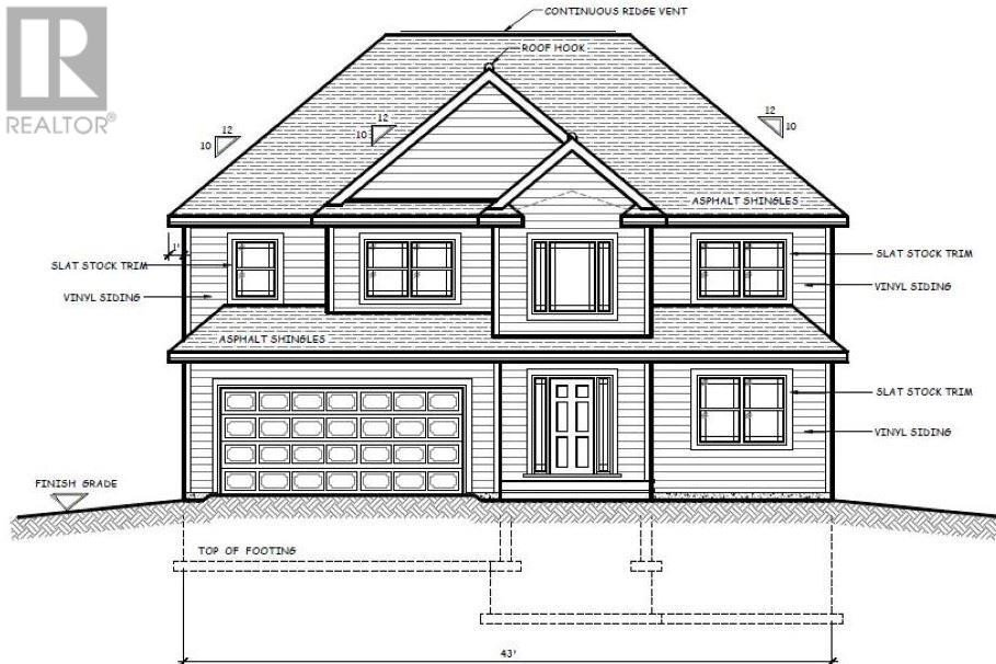 House for sale at 118 234 Lynwood Dr Unit LOT Brookside Nova Scotia - MLS: 202016234