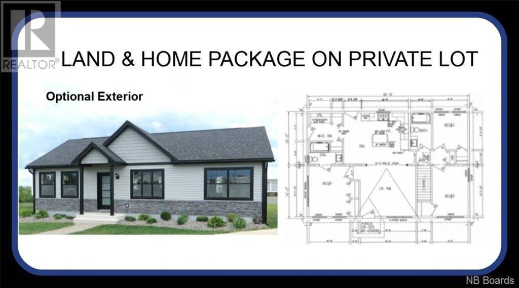 House for sale at  Barbara Dr Unit Lot 14 Rusagonis New Brunswick - MLS: NB042535
