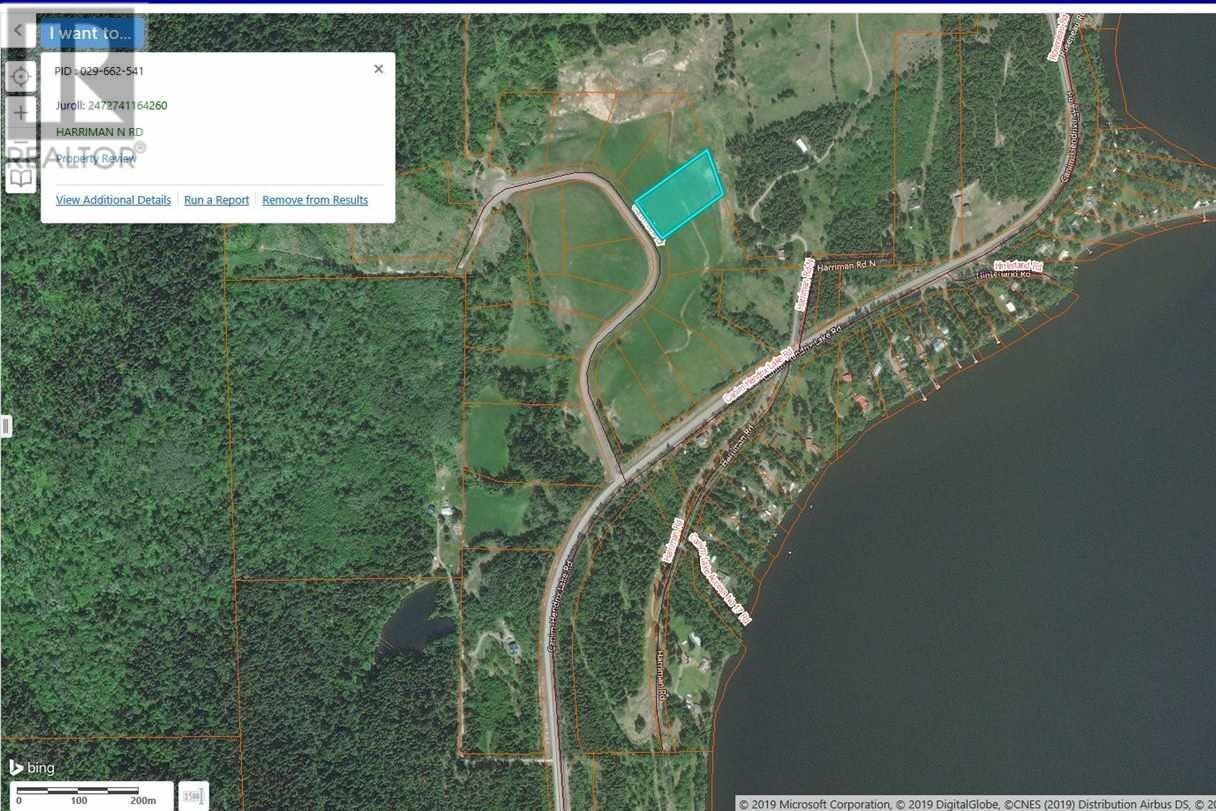 Residential property for sale at 17 Harriman Rd Unit LOT Canim Lake British Columbia - MLS: R2367496
