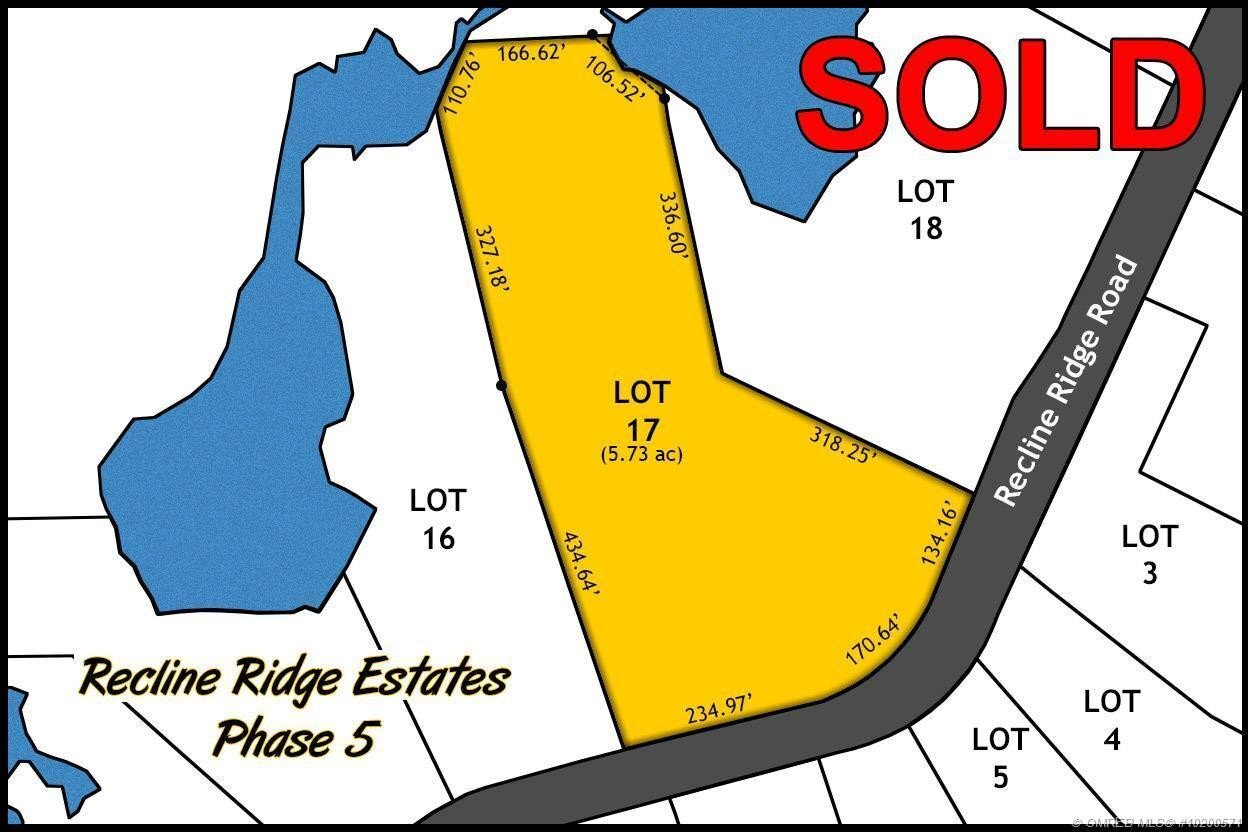 Residential property for sale at Lot 17 Recline Ridge Rd Tappen British Columbia - MLS: 10200571