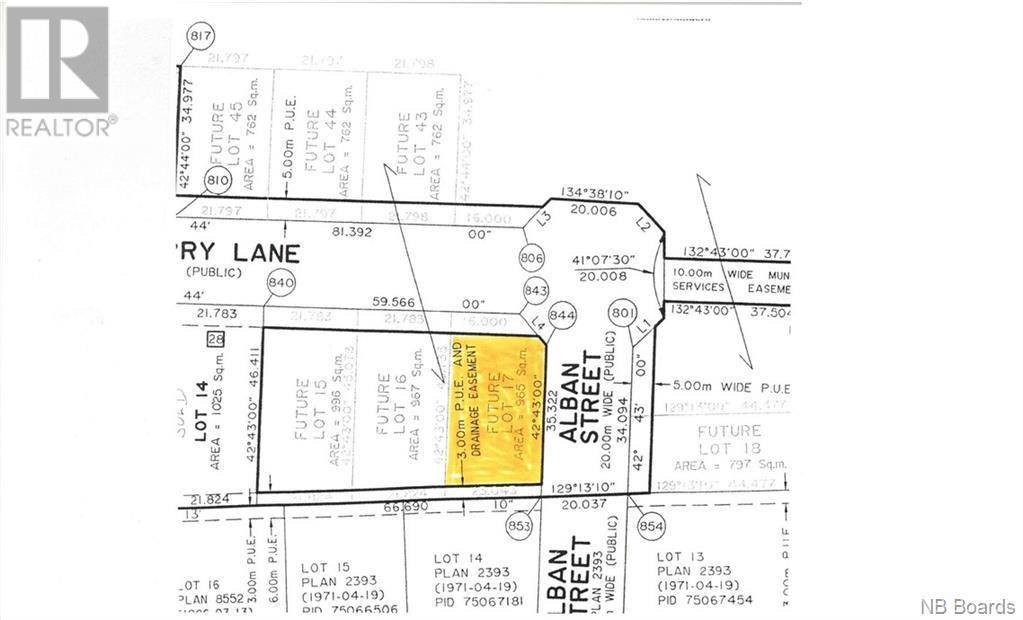 Residential property for sale at  Sandcherry Ln Unit Lot 17 New Maryland New Brunswick - MLS: NB040431