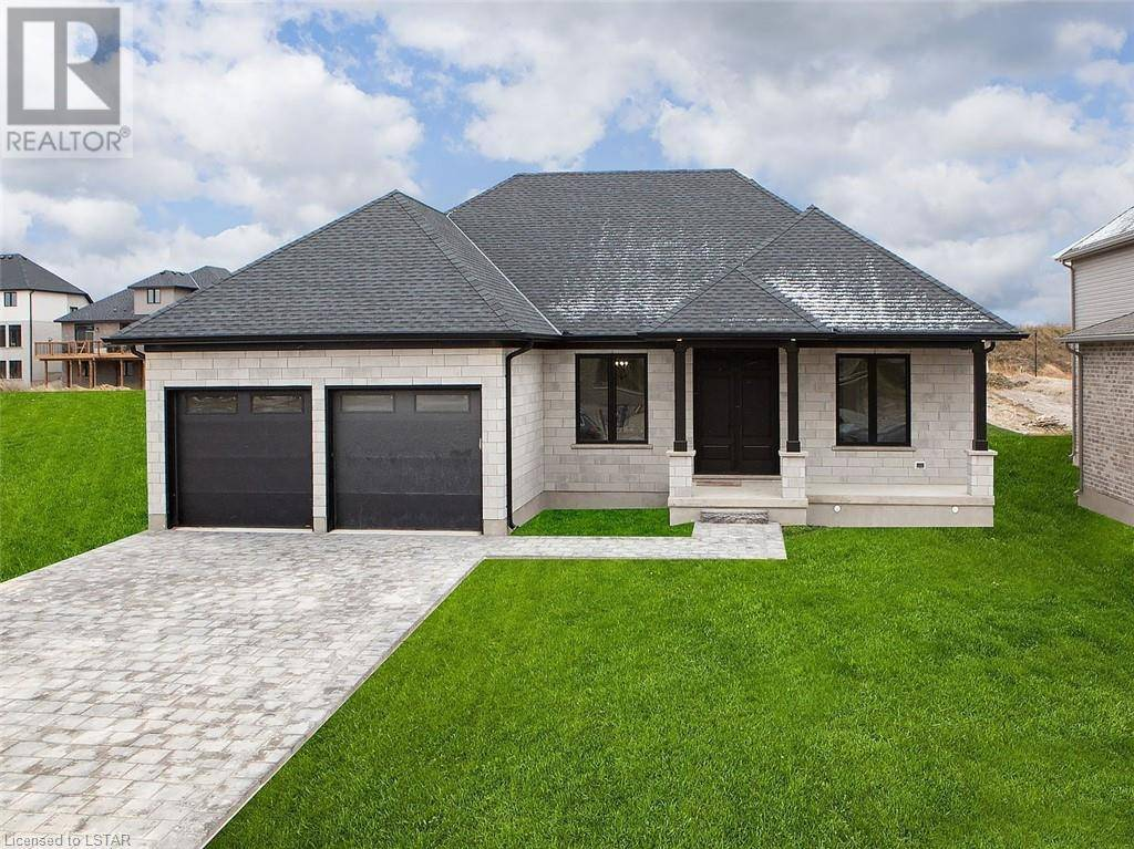 House for sale at  Arrowwood Path Unit Lot 18 Ilderton Ontario - MLS: 231629