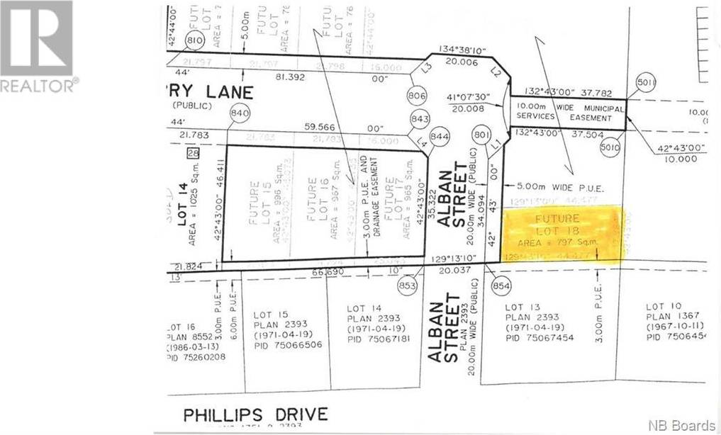 Home for sale at  Sandcherry Ln Unit Lot 18 New Maryland New Brunswick - MLS: NB040432