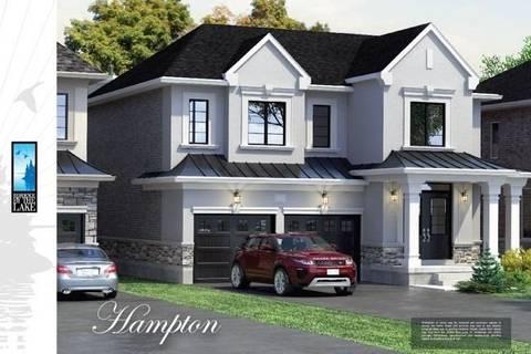 House for sale at 181 Burloak Dr Unit Lot 2 Oakville Ontario - MLS: W4655666