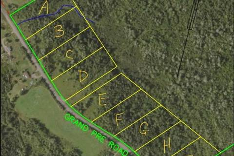 Residential property for sale at  Grand Pre Rd Unit Lot 2 Wallbrook Nova Scotia - MLS: 201816985