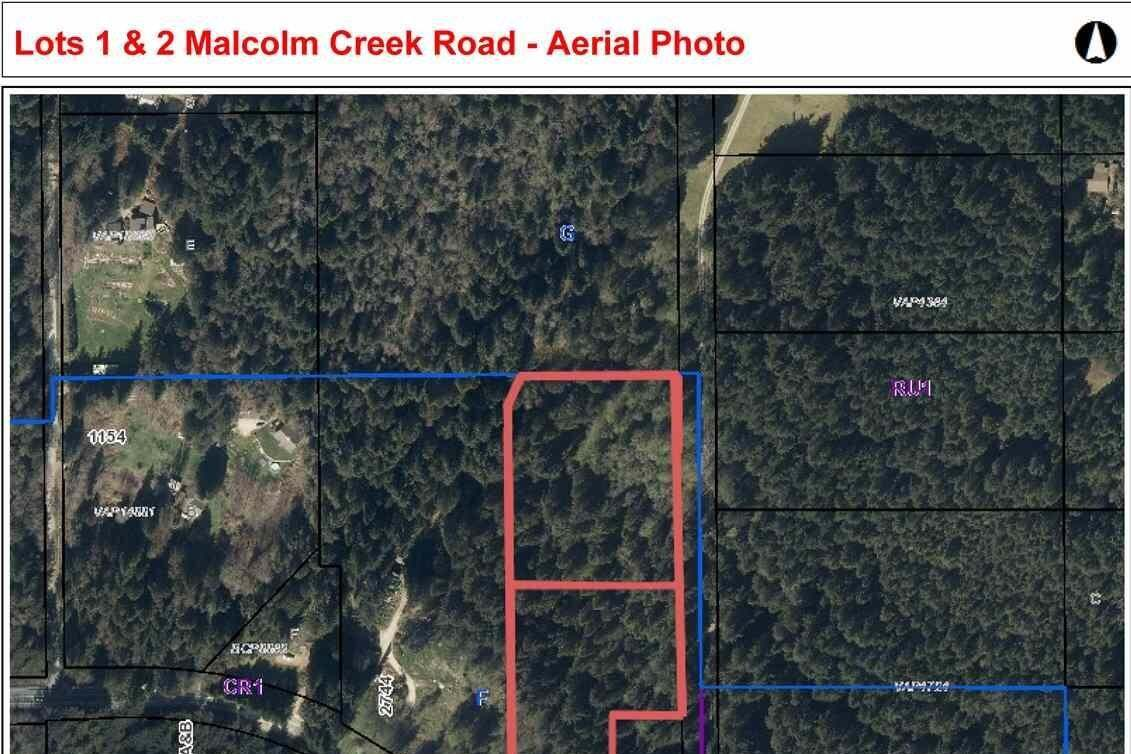 Residential property for sale at LOT 2 Malcolm Creek Rd Roberts Creek British Columbia - MLS: R2373285