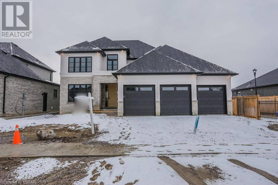 House for sale at  Mossy Wood Wk Unit Lot 2 Ilderton Ontario - MLS: 182176