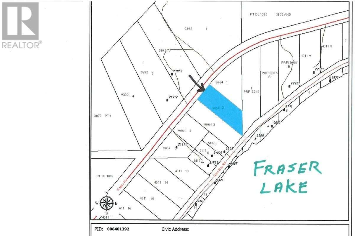 Residential property for sale at 2 Stella Rd Unit LOT Fraser Lake British Columbia - MLS: R2455713