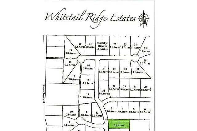 Residential property for sale at 2 Whitetail Ridge Estates Unit LOT Rural Bonnyville M.d. Alberta - MLS: E3394434
