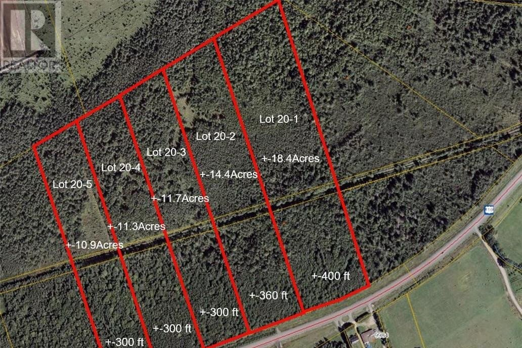 Residential property for sale at Lot 20-1 Bonar Law Ave Rexton New Brunswick - MLS: M129046