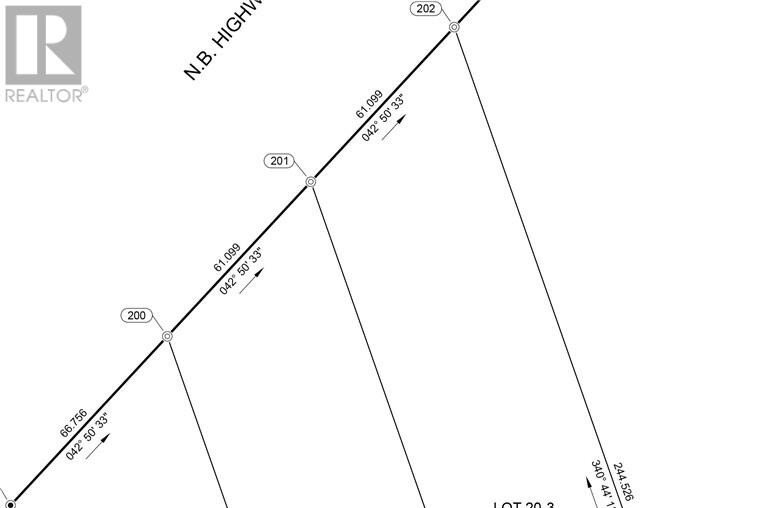 Residential property for sale at Lot 20-2 Painsec Junction Rd Lakeville New Brunswick - MLS: M130073