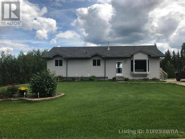 House for sale at  Baxter Ht Unit Lot 20 Woodlands County Alberta - MLS: 51803