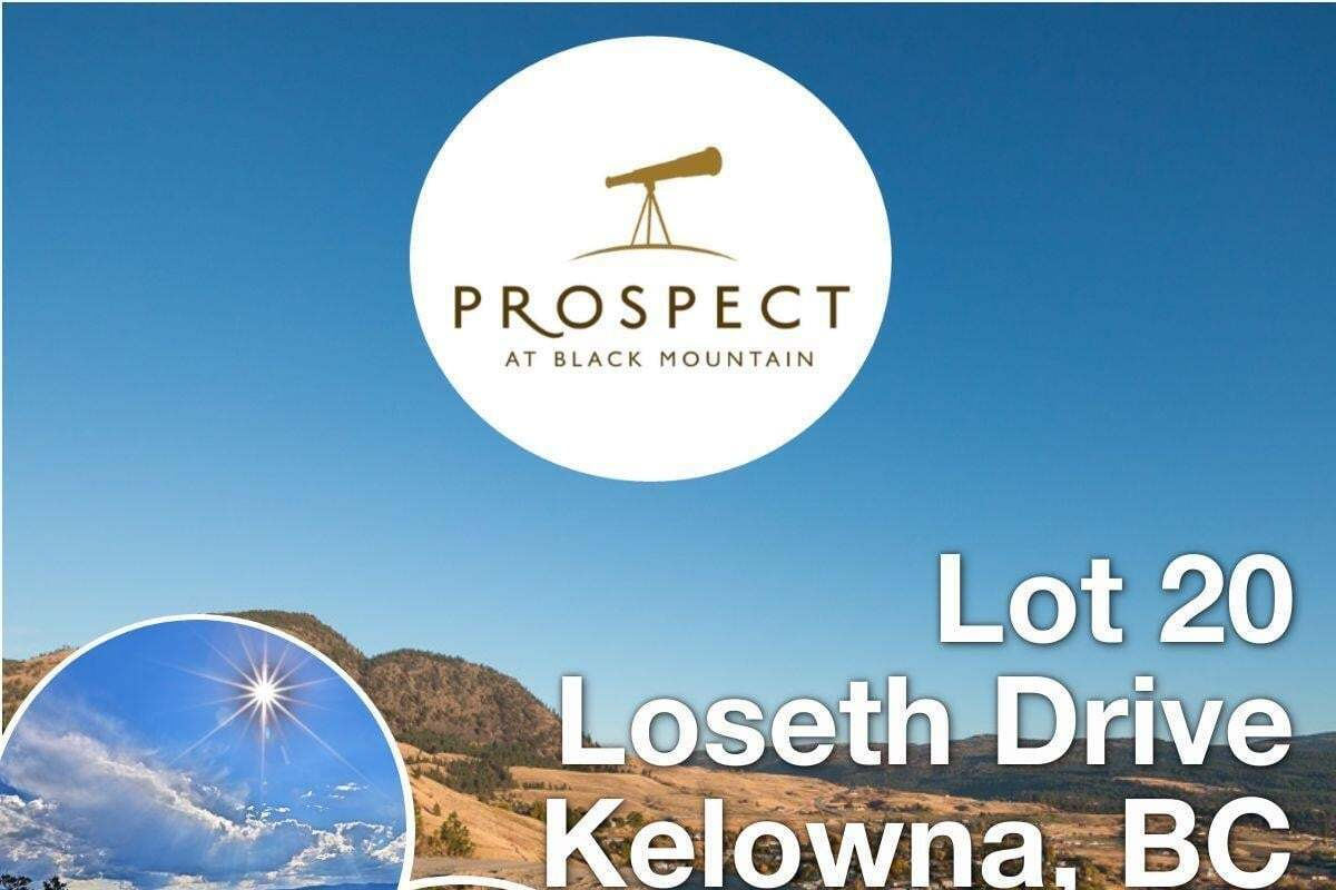 Residential property for sale at Lot 20 Loseth Dr Kelowna British Columbia - MLS: 10177276