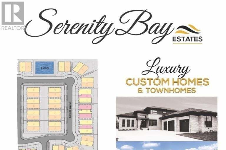Townhouse for sale at LOT 20 Serenity Bay Estates  Lakeshore Ontario - MLS: 20006517