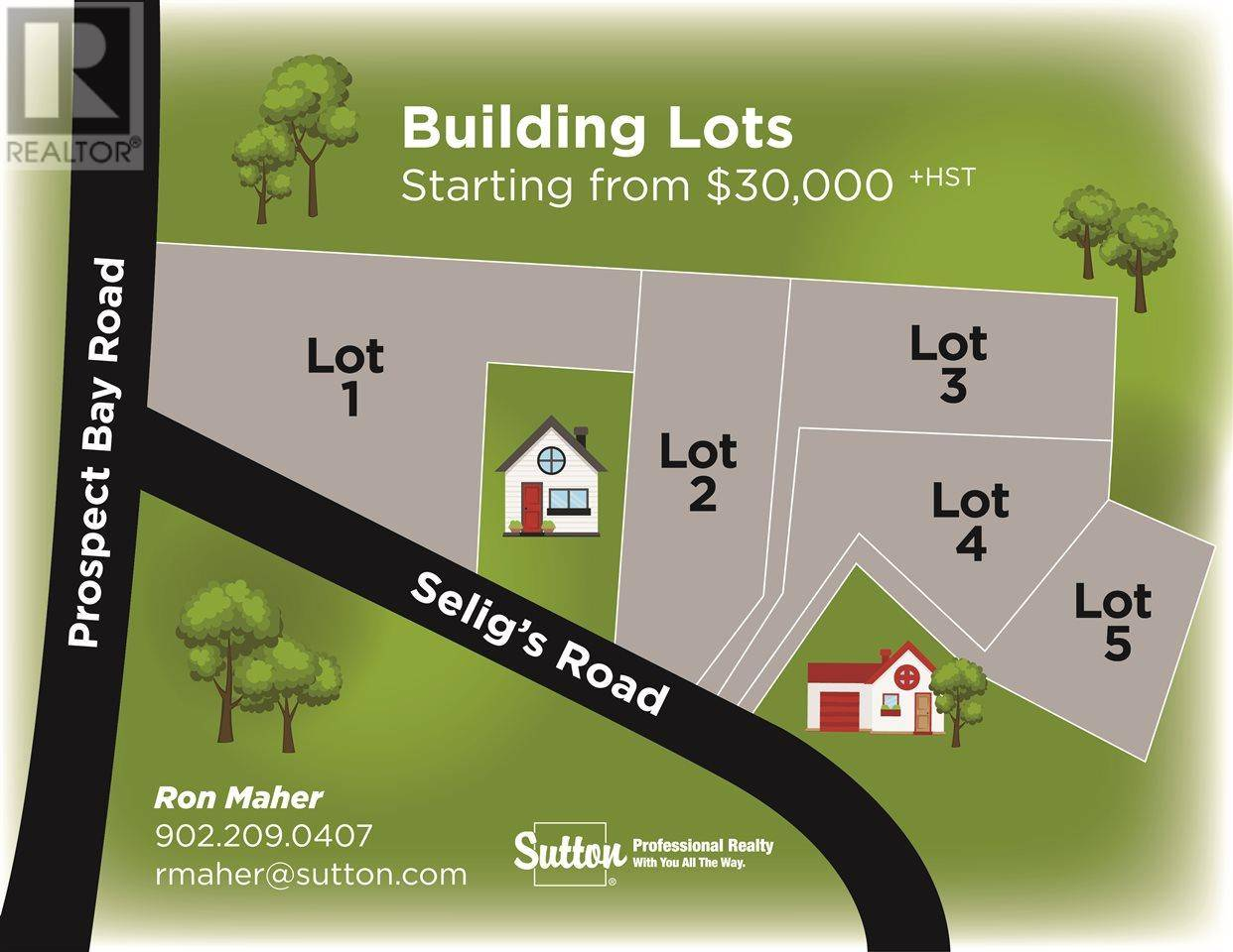 Residential property for sale at  Seligs Rd Unit Lot 3 Prospect Nova Scotia - MLS: 201716451