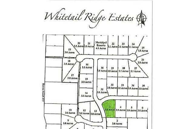 Home for sale at 3 Whitetail Ridge Estates Unit LOT Rural Bonnyville M.d. Alberta - MLS: E3394438