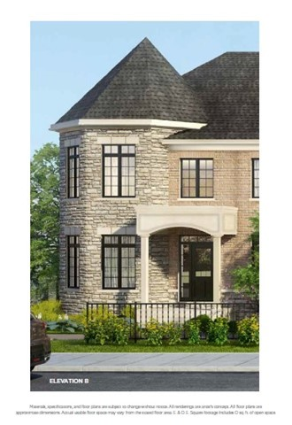 For Sale: Lot 30 - 305 Bloomington Road, Richmond Hill, ON | 3 Bed, 4 Bath Townhouse for $849,900. See 5 photos!