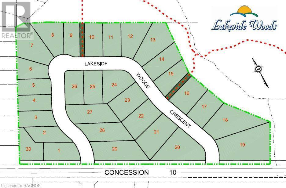 Residential property for sale at  3m245  Unit Lot 30 Saugeen Shores Ontario - MLS: 230876