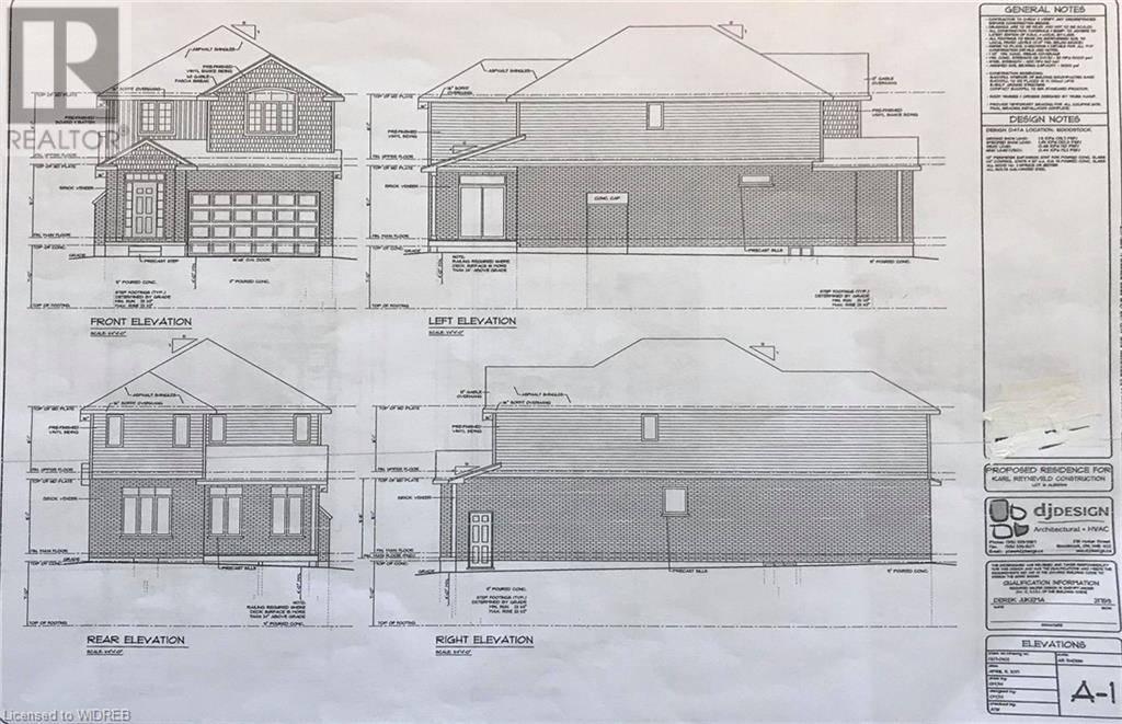 House for sale at  Juniper St Unit Lot 33 Woodstock Ontario - MLS: 224323