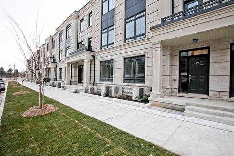 Townhouse for sale at 73 William Saville St Unit Lot 35 Markham Ontario - MLS: N4655521