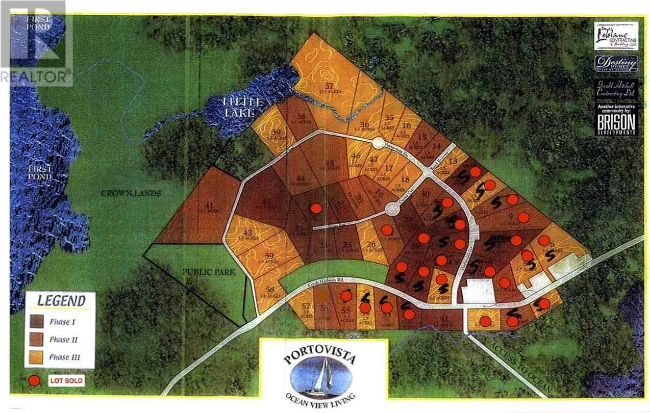 Home for sale at  Portovista Dr Unit Lot 36 Portuguese Cove Nova Scotia - MLS: 201904504