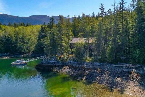 House for sale at 0 Island  Unit Lot 39 Pender Harbour British Columbia - MLS: R2365453
