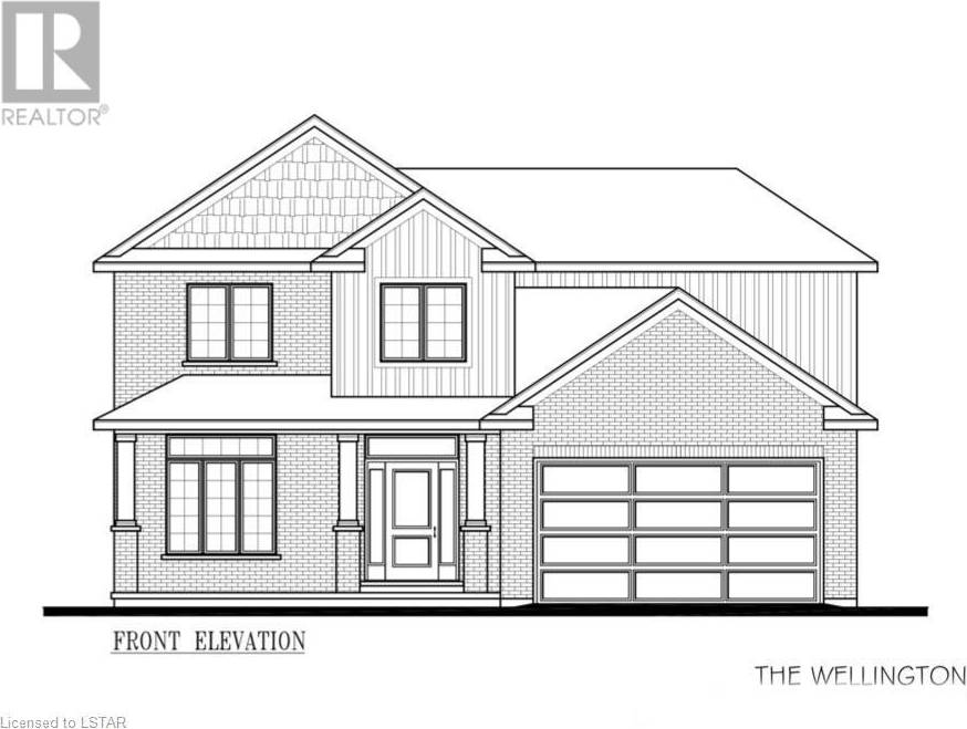 House for sale at  Boardwalk Wy Unit Lot 4 Dorchester Ontario - MLS: 229458