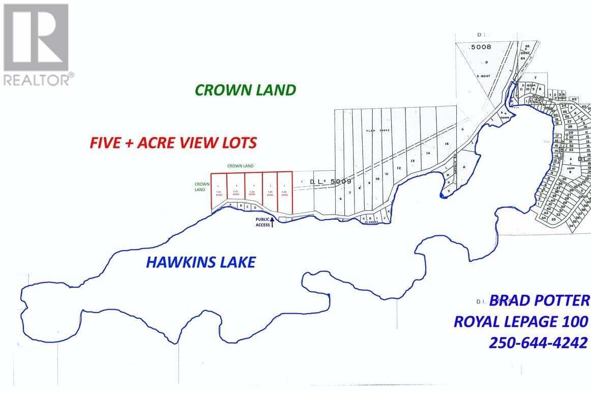Home for sale at 4 Eagle Creek Rd Unit LOT Canim Lake British Columbia - MLS: R2475136