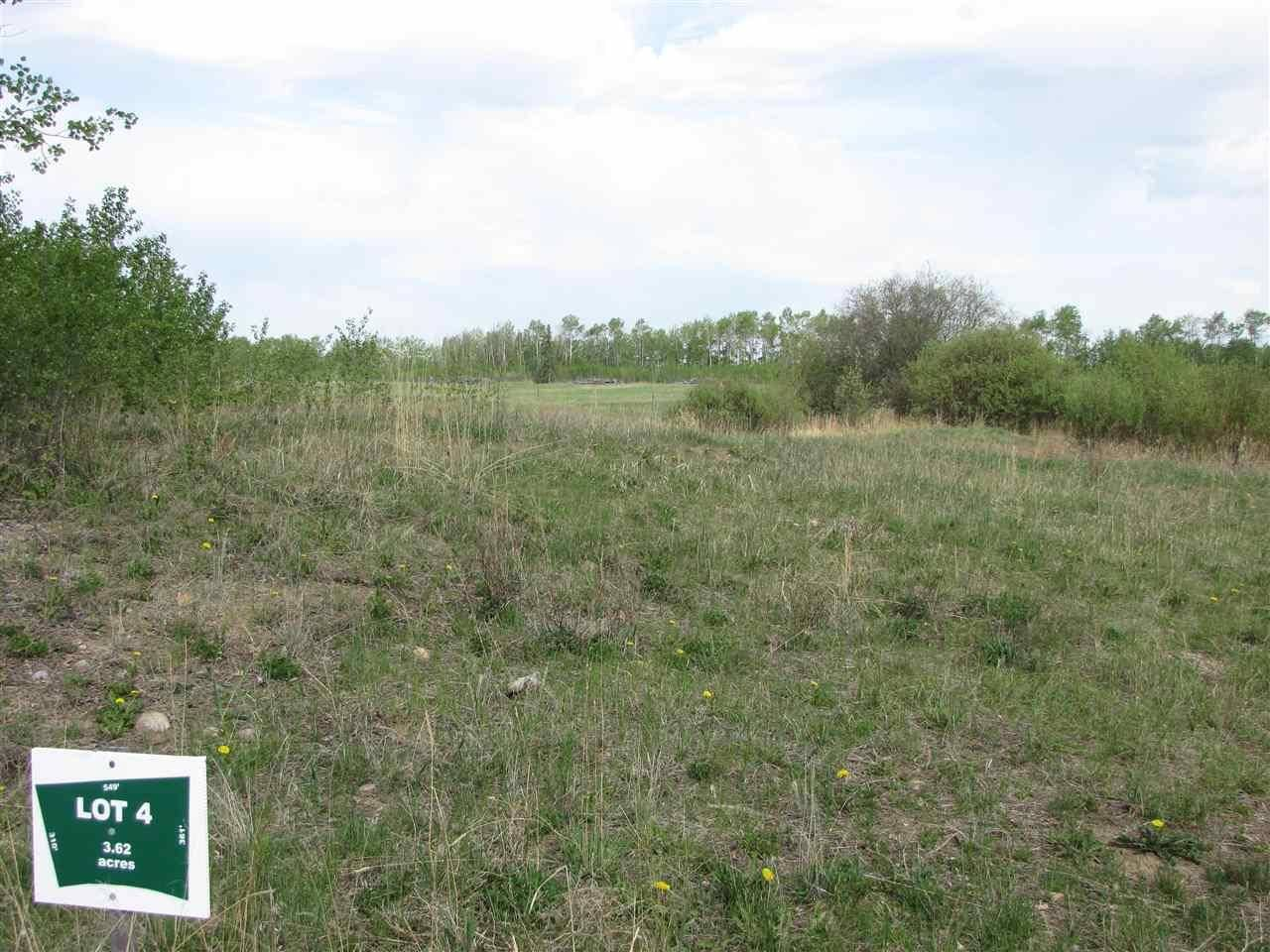Residential property for sale at  Emerald Rd Unit Lot 4 Rural Lac Ste. Anne County Alberta - MLS: E4185276