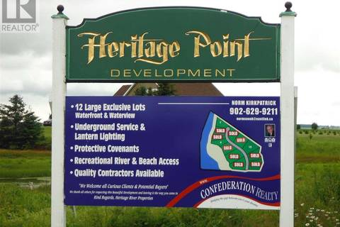 Residential property for sale at 4 Heritage Pt Unit Lot 4 Mermaid Prince Edward Island - MLS: 201724969