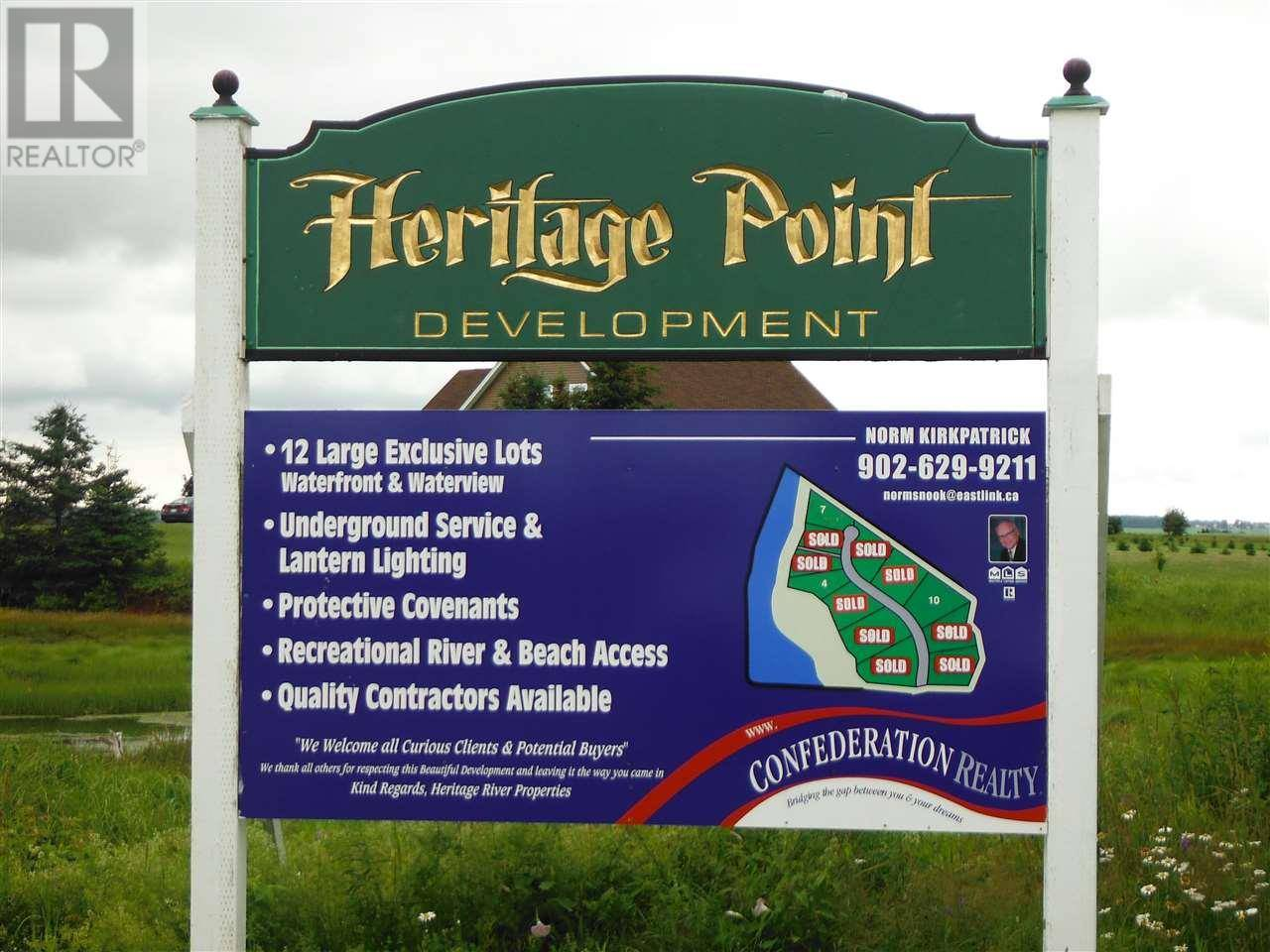 Home for sale at  Heritage Pt Unit Lot 4 Mermaid Prince Edward Island - MLS: 201724969