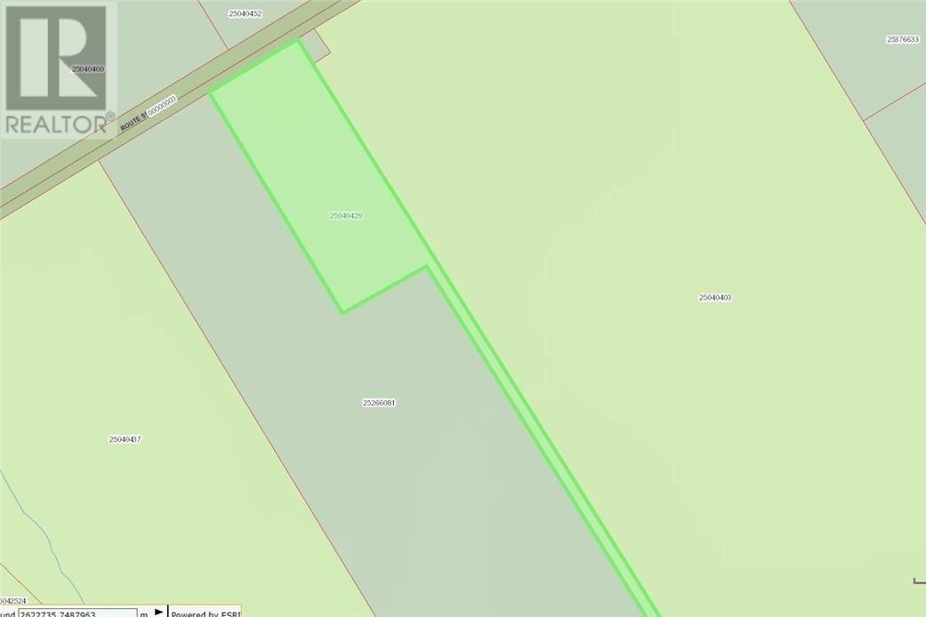 Home for sale at Lot 4047 Route 515  Ste. Marie-de-kent New Brunswick - MLS: M131793