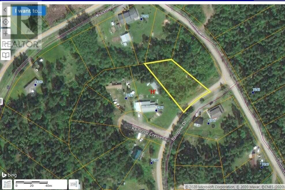 Residential property for sale at 46 Rainbow Dr Unit LOT Canim Lake British Columbia - MLS: R2509561