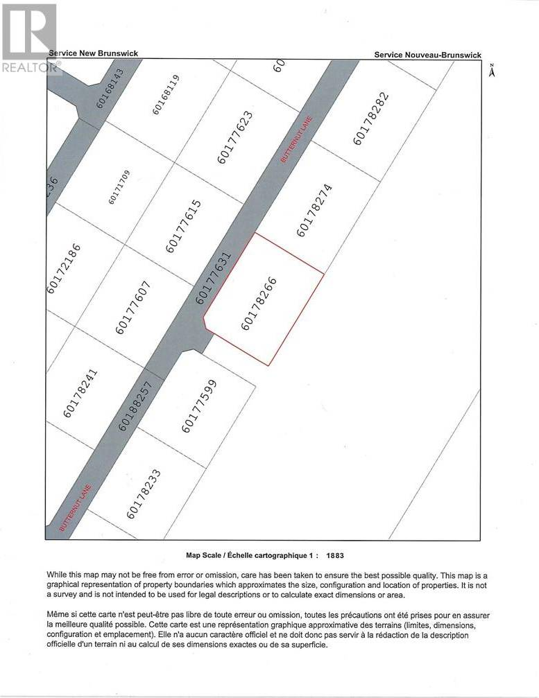 Residential property for sale at  Butternut Ln Unit Lot 49 Noonan New Brunswick - MLS: NB030710