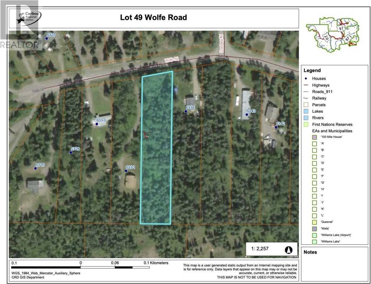 Home for sale at  Wolfe Rd Unit Lot 49 Horse Lake British Columbia - MLS: R2452307