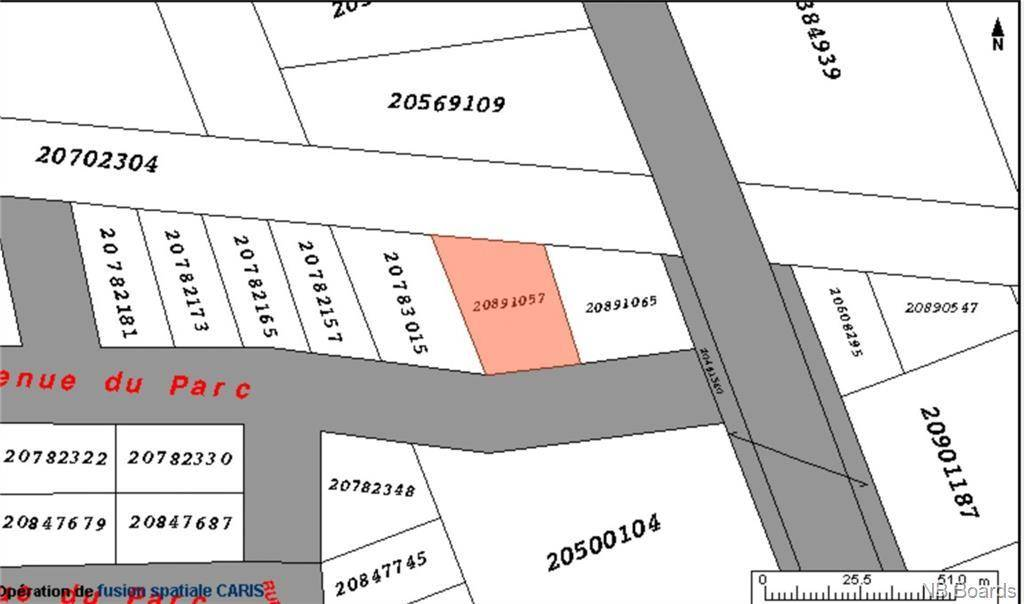 Residential property for sale at  4e Ave Unit Lot Caraquet New Brunswick - MLS: NB037024
