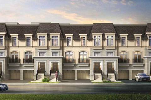 Townhouse for sale at 850 Elgin Mills Rd Unit Lot 5 Richmond Hill Ontario - MLS: N4556464