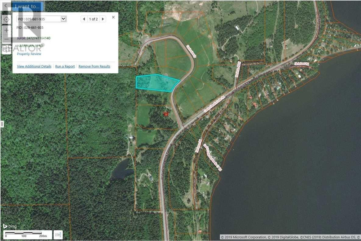 Residential property for sale at 5 Harriman Rd Unit LOT Canim Lake British Columbia - MLS: R2361892