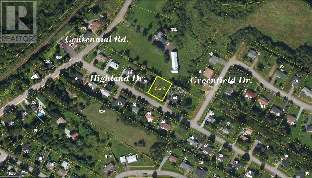 Residential property for sale at  Highland Dr Unit Lot 5 Hampton New Brunswick - MLS: NB033074