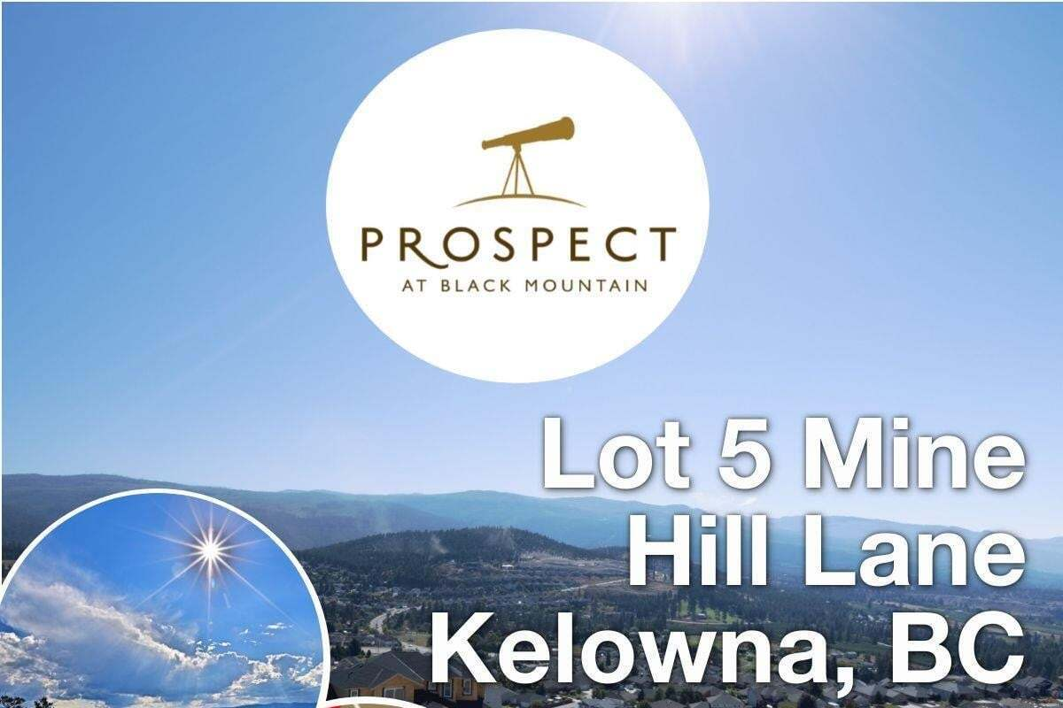 Residential property for sale at Lot 5 Mine Hill Ln Kelowna British Columbia - MLS: 10177250