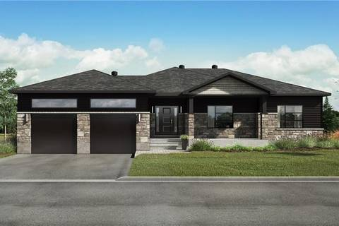 House for sale at  Stonewalk Wy Unit Lot 5 Kinburn Ontario - MLS: 1159268