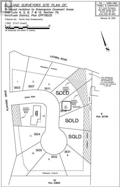 Home for sale at  Urban Ri Unit Lot 5 Victoria British Columbia - MLS: 416564